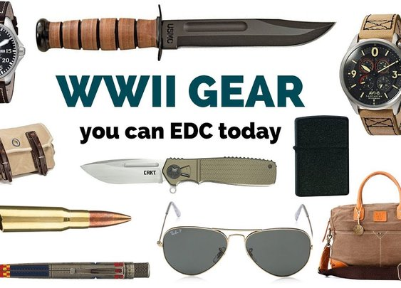 WWII Inspired Gear You Can EDC Today - YouTube
