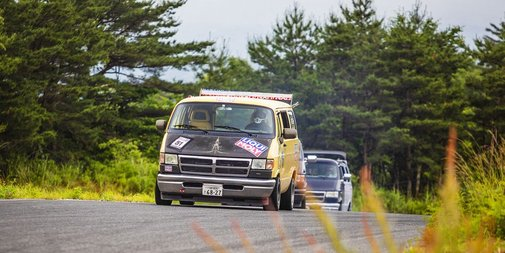 The Glorious Madness of Japanese Dodge Van Racing
