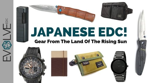 Japanese EDC : Gear From The Land Of The Rising Sun! - YouTube