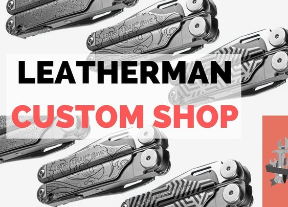 Leatherman Wave + Custom Shop - Customize Your Multi Tool! - YouTube