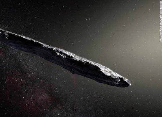 Oumuamua: Interstellar object may have been alien probe