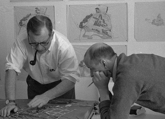 Eero Saarinen's midcentury office was a breeding ground for modernist design