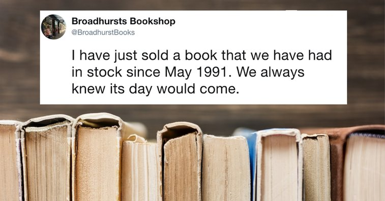 Old Book Finally Sells After Sitting in Bookstore for 27 Years