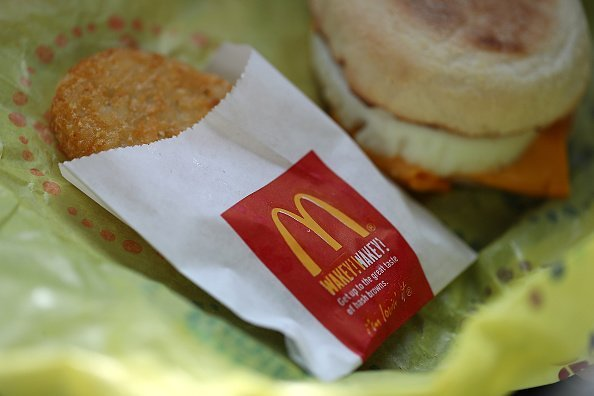 Man Eating McDonald's Hash Brown While Driving Gets Ticket