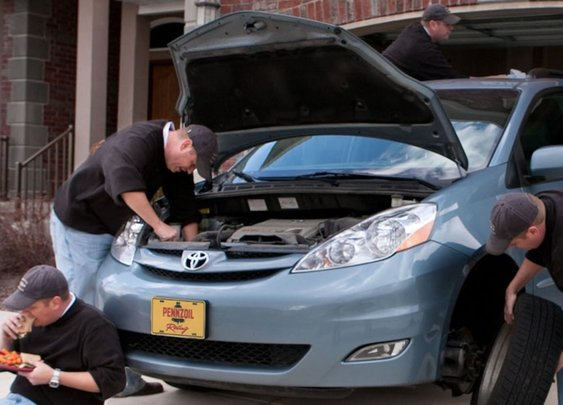 For all you young men out there, auto maintainence 101