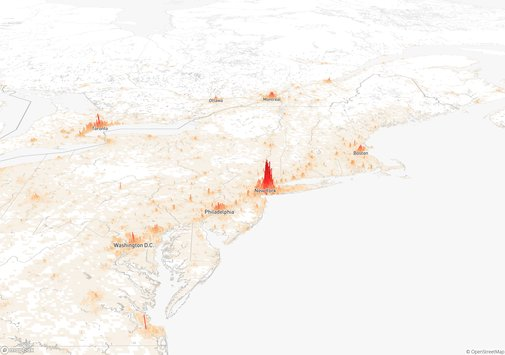 Population Mountains