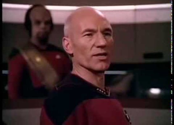 "Captain Picard Sings ""Make it So"" (Let it Snow)"