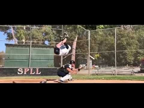 Baseball Player Jumps Over Catcher to Tag Home