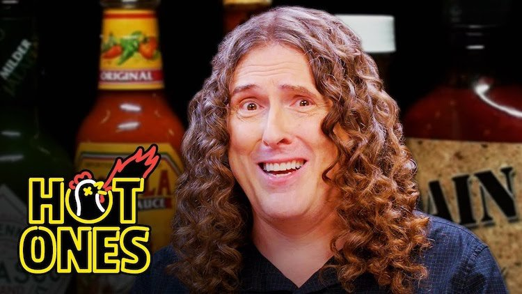'Weird Al' Yankovic Talks About His Colorful Career While Consuming Increasingly Spicy Vegan Wings