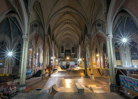 How a St. Louis Church Became a Skate Park