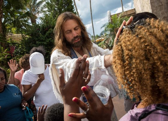 A day in the life of Jesus at a Biblical theme park...