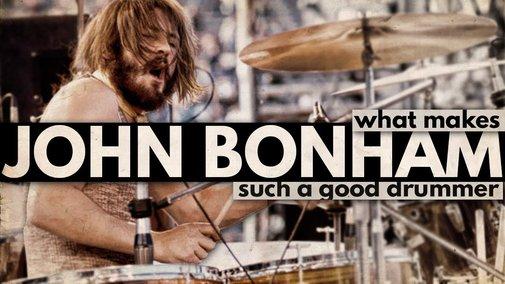 What Makes John Bonham Such a Good Drummer? - YouTube