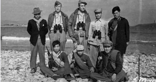 How naked World War II sailors ended up riding Mongolian ponies in the Gobi Desert to shoot bazookas at the Japanese
