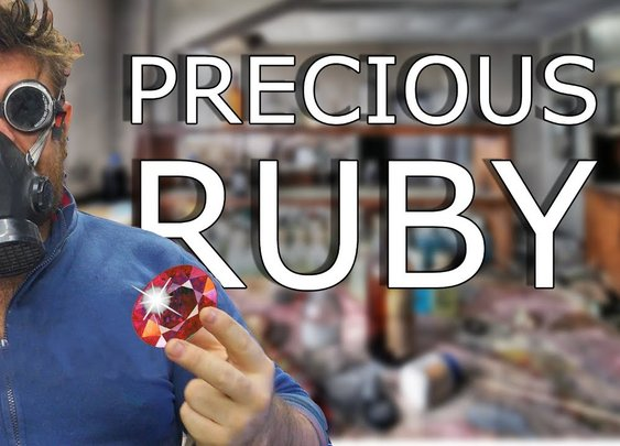 How to Make precious Rubies at Home - 4K