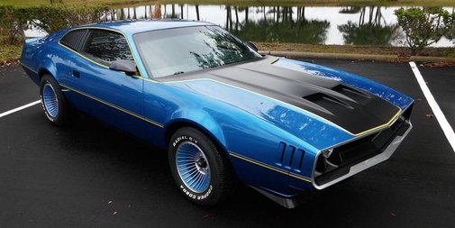 Two Guys Built This Awesome Retro Muscle Car Out of an '84 Firebird
