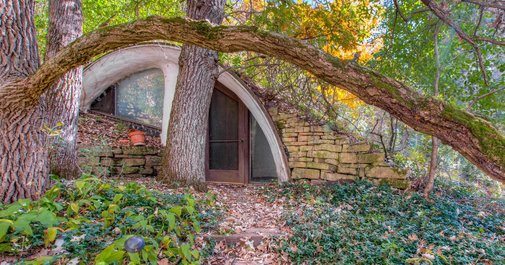 Hunker down in your own hobbit house for $275K