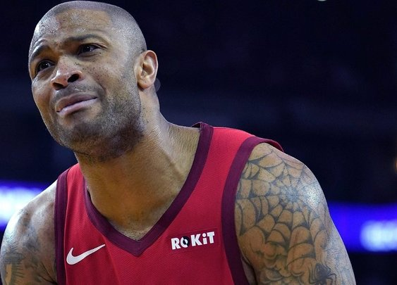 Houston Rockets' P.J. Tucker roasted. Put me in coach