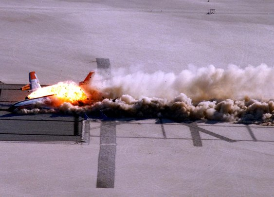 NASA made airliners safer by blowing one up in 1984 — Quartz
