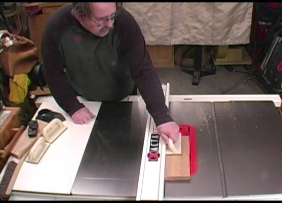 Table Saw Kickback on Camera