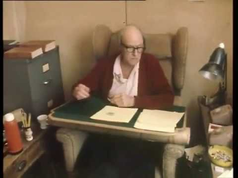 Roald Dahl on his Writing Hut