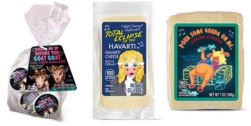 Aldi is releasing a line of cheeses named after hit songs from the '80s