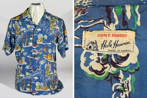JFK's Personal Hawaiian Shirt Is up for Sale
