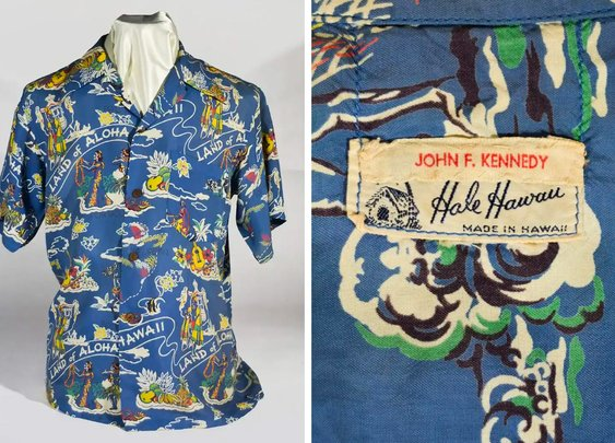 JFK's Personal Hawaiian Shirt Is up for Sale