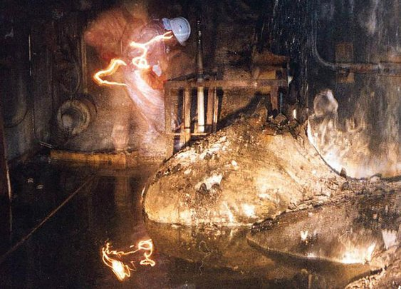 The Famous Photo of Chernobyl's Most Dangerous Radioactive Material Was a Selfie