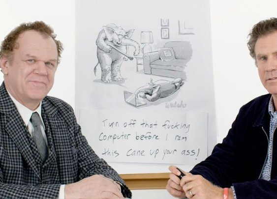 Will Ferrell & John C. Reilly Show How to Write a New Yorker Cartoon Caption