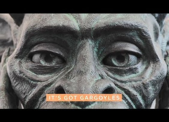 Chatty Gargoyle at Denver International Airport - YouTube