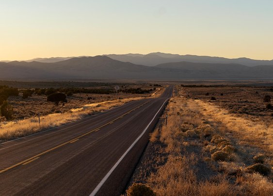 Picture of U.S. Route 50, the loneliest road in America