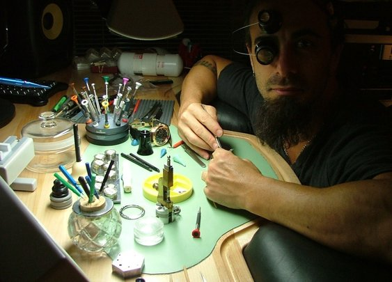 Meet Dan Spitz, Anthrax Guitarist Turned Master Watchmaker