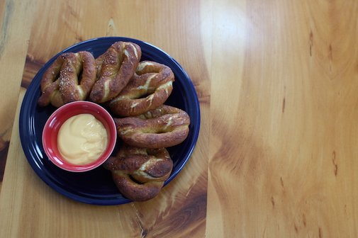 How to Make Ballpark Pretzels