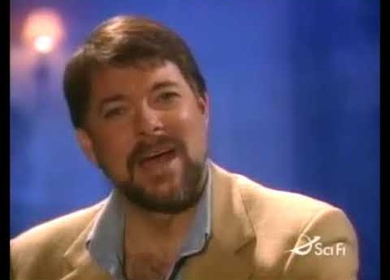 Jonathan Frakes Telling You You're Wrong for 47 Seconds - YouTube