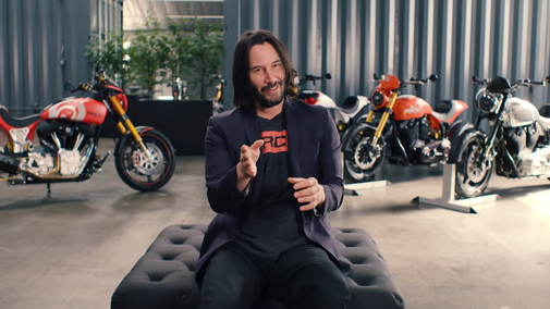 Keanu Reeves Shows Off His Extensive Collection of Prized Bikes at Arch Motorcycle in Los Angeles