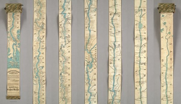 This 11-Foot 'Ribbon Map' Puts the Whole Mississippi River in Your Pocket