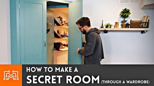 How to Make a Secret Room (Through a Wardrobe)