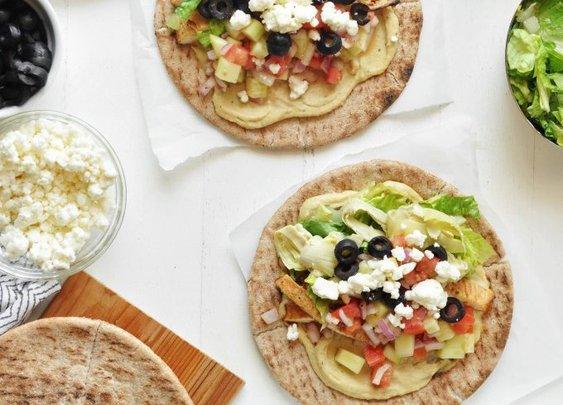 Mediterranean Tacos - The Chic Site