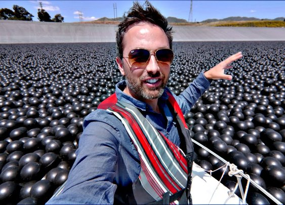 Why Are 96,000,000 Black Balls on This Reservoir? - YouTube