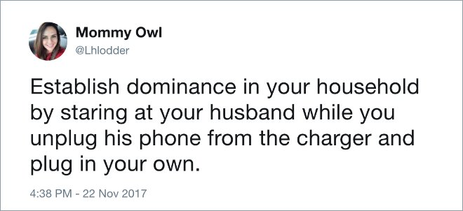 20 Funniest Tweets About The Everyday Absurdities Of Marriage