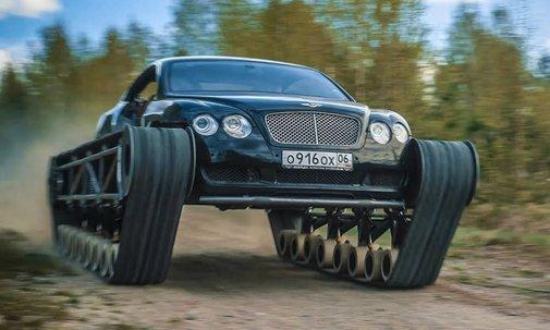 "Bentley Continental GT ""Ultratank""   Cool Material"