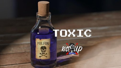 Toxic - by Josh Hatcher - Rise X Up   Manlihood.com