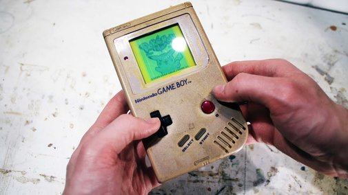 Restoring the original gameboy - Retroration project - YouTube