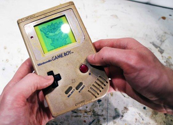 Restoring the original gameboy - Retroration project - YouTube