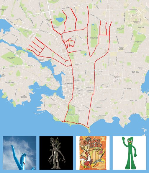 Sketchbook of a GPS Artist