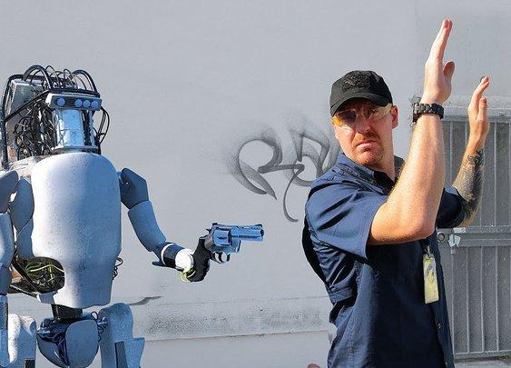 Boston Dynamics: New Robots Now Fight Back - YouTube