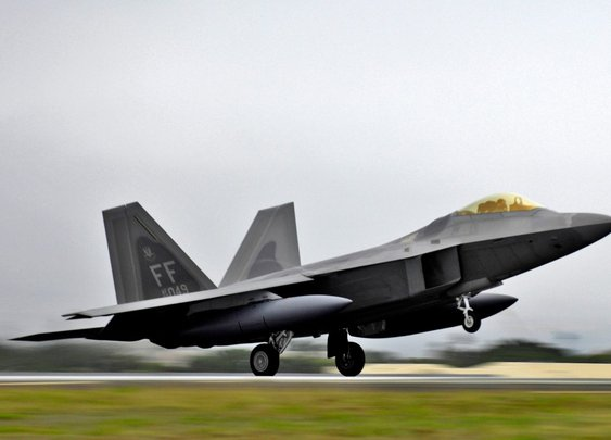 USAF F-22 Flew Undetected Under an Iranian F-4 Phantom | The National Interest