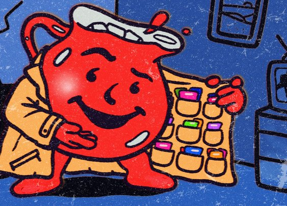 Inside black market vintage Kool-Aid packet collectors