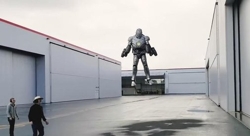 Adam Savage Built A Real Life 'Iron Man' Suit That Can Actually Fly - Digg
