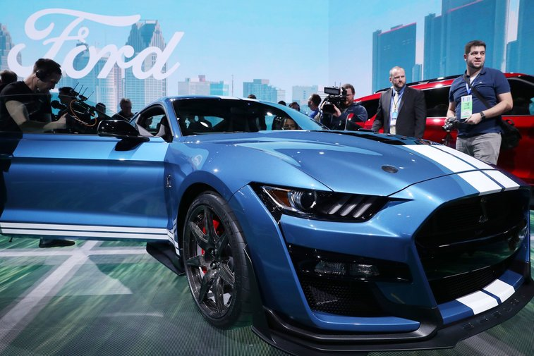 Ford reveals horsepower, torque details for the Mustang Shelby GT500